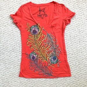 3/$20 PacSun Graphic V Neck Tee Shirt